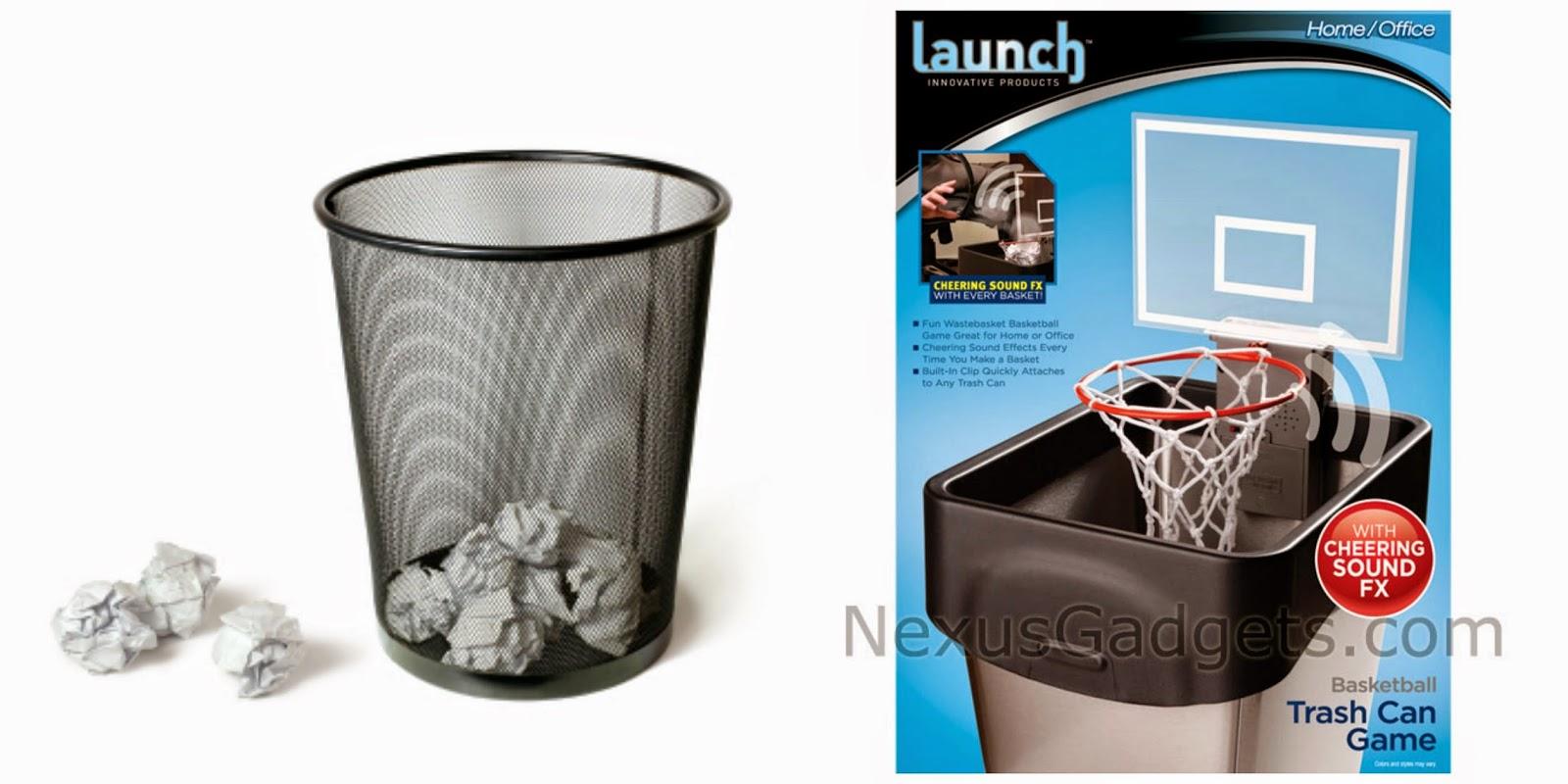 Roskat voi heittää koripalloroskikseen