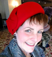 Little Red Structured Beret