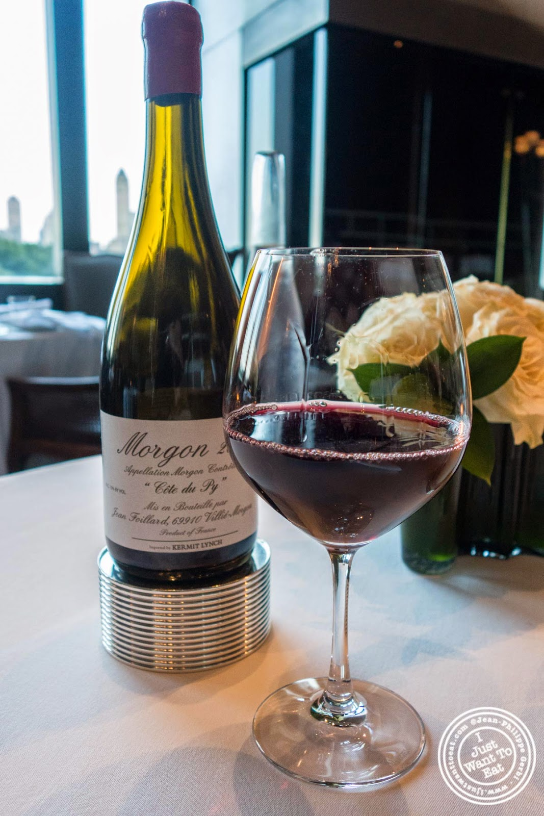 image of Jean Foillard Morgon Côte du Py, 2012 at Per Se in New York, NY