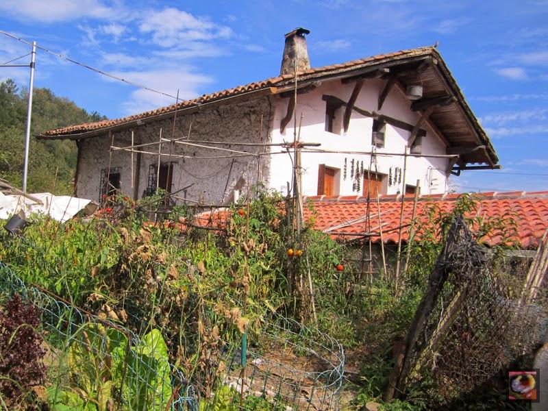Caserío Monto en Gorostiza, El Regato, Barakaldo (Bizkaia)
