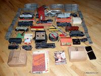 100 Piece PREWAR Lionel Train Set Lot!