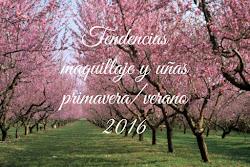 Tendencias maquillaje y uñas primavera/verano 2016