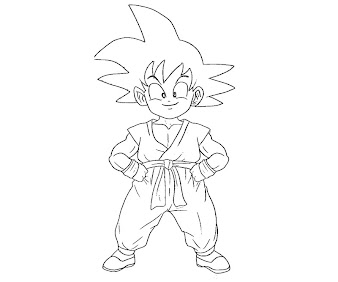 #4 Dragon Ball Coloring Page