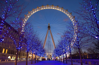 The Eye at night