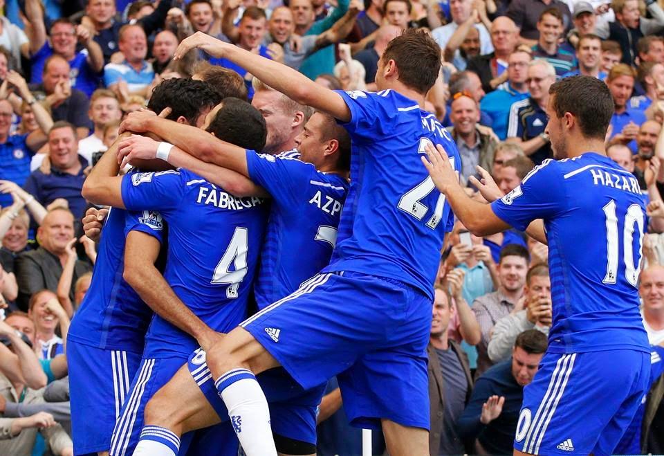 Chelsea Unggul Dua Gol Tanpa Balas Atas Burnley