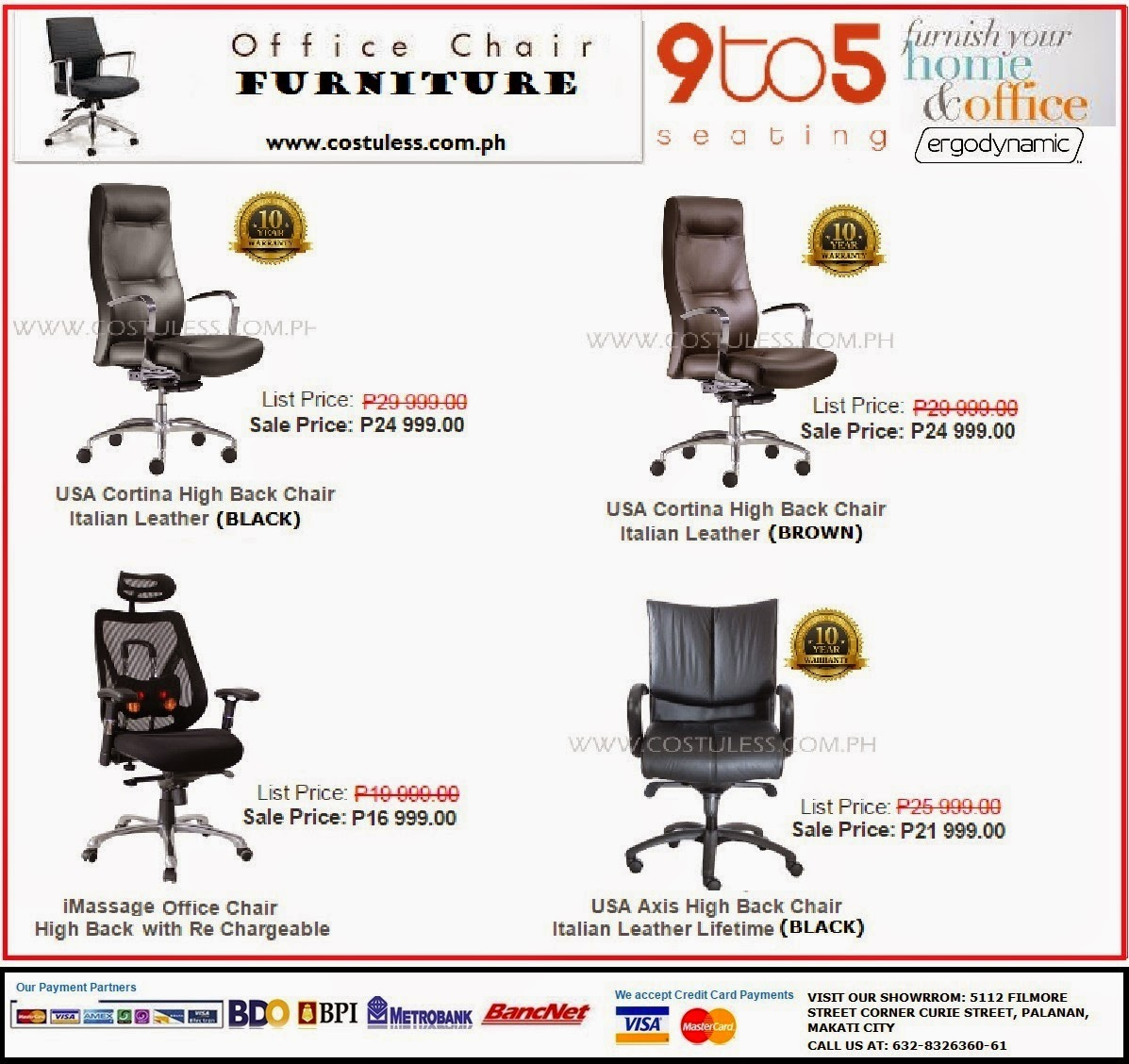 Cost u less office furniture manila furniture supplier for High end furniture for less