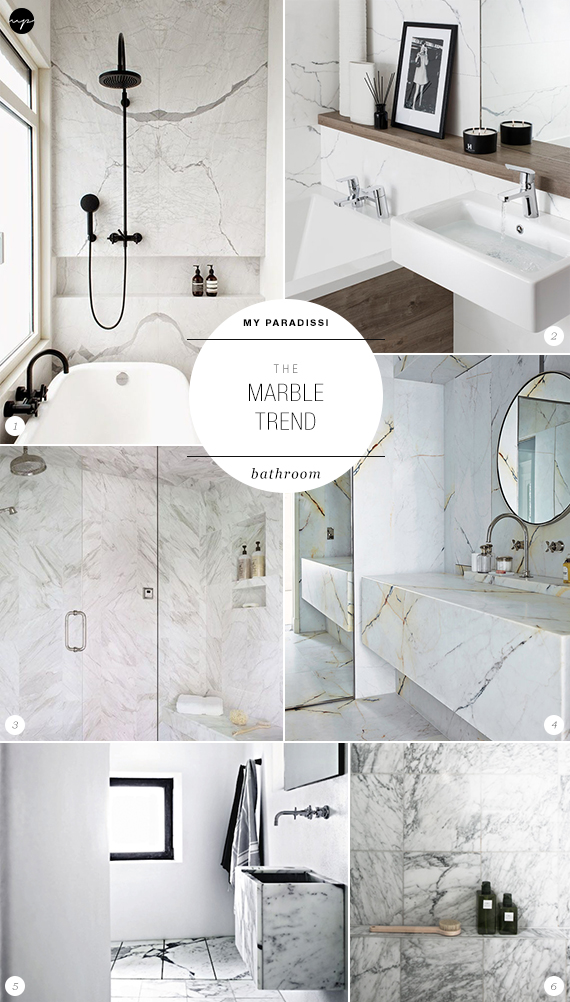 The Marble Trend | Bathroom