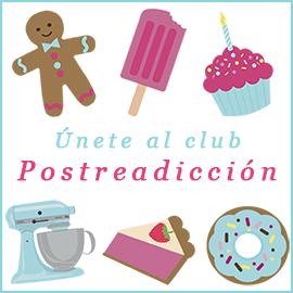 Soy miembro del club Postreadicción