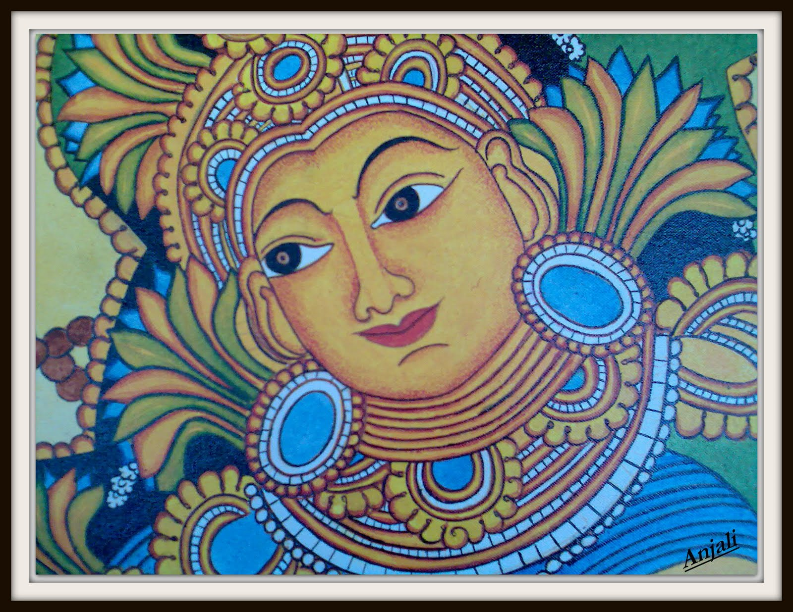 Design decor disha an indian design decor blog for Buy kerala mural paintings online