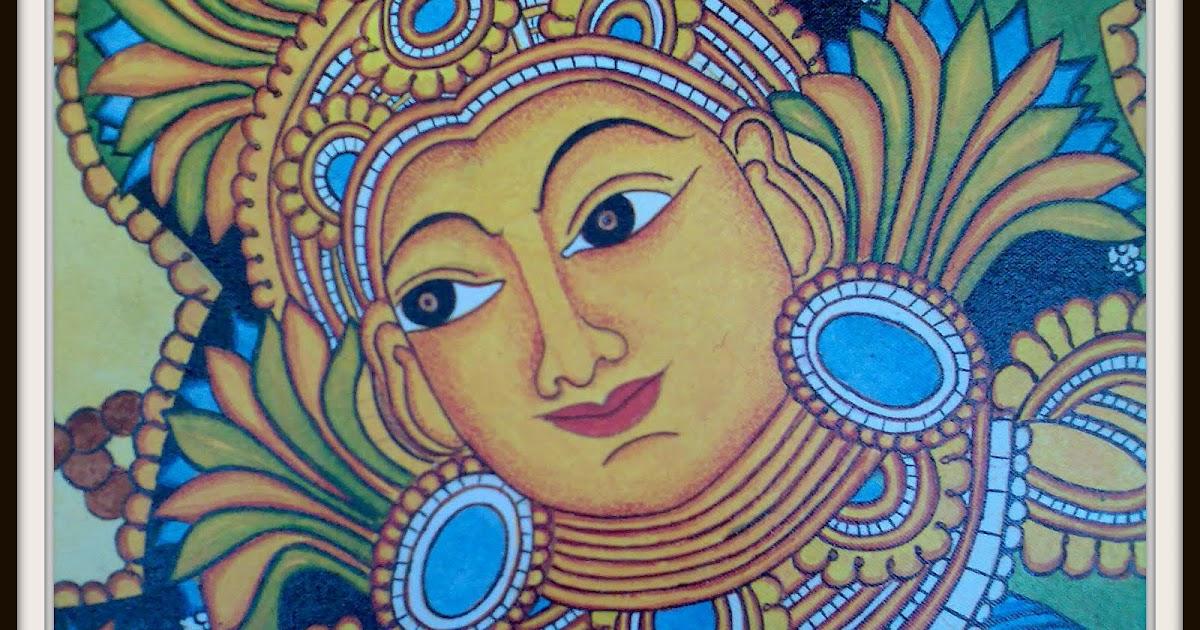Design decor disha an indian design decor blog for Asha mural painting guruvayur
