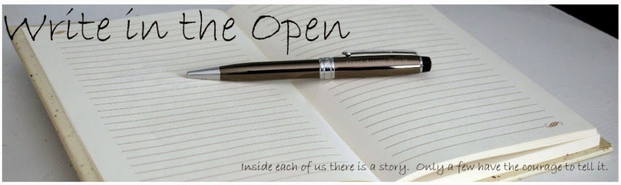 Write in the Open
