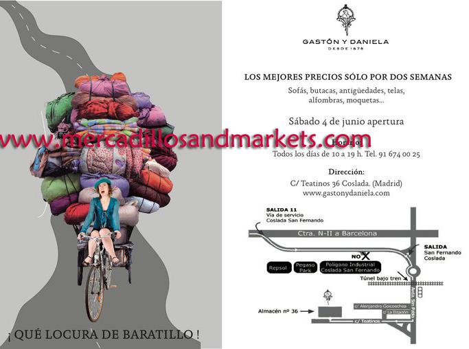 Mercadillos and markets baratillo gast n y daniela - Gaston y daniela madrid ...