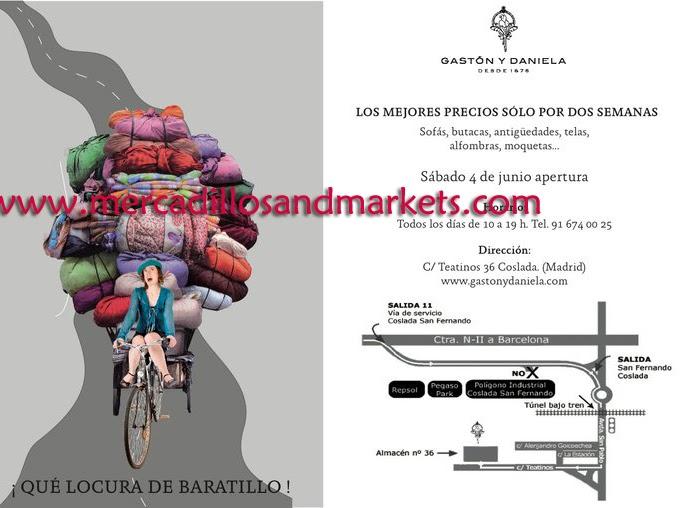 Mercadillos and markets baratillo gast n y daniela - Gaston y daniela coslada ...