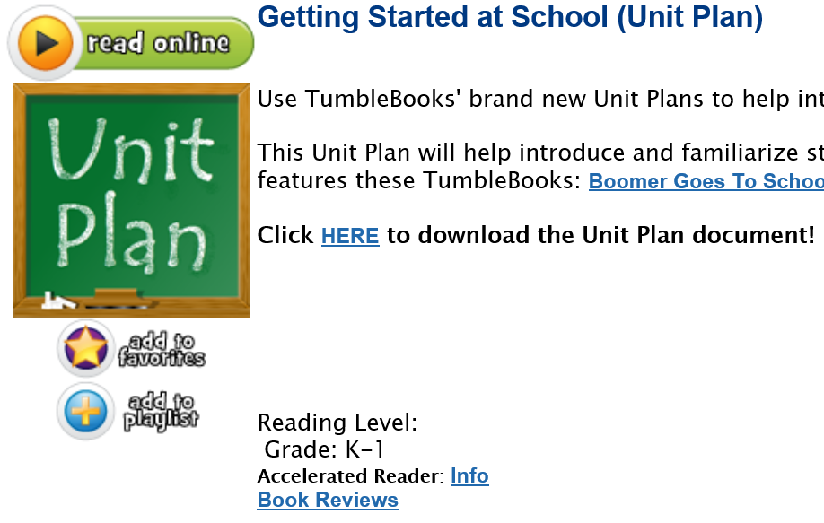 You Ought to Know about Tumblebooks!