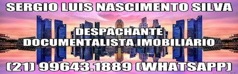 DESPACHANTE DOCUMENTALISTA IMOBILIÁRIO
