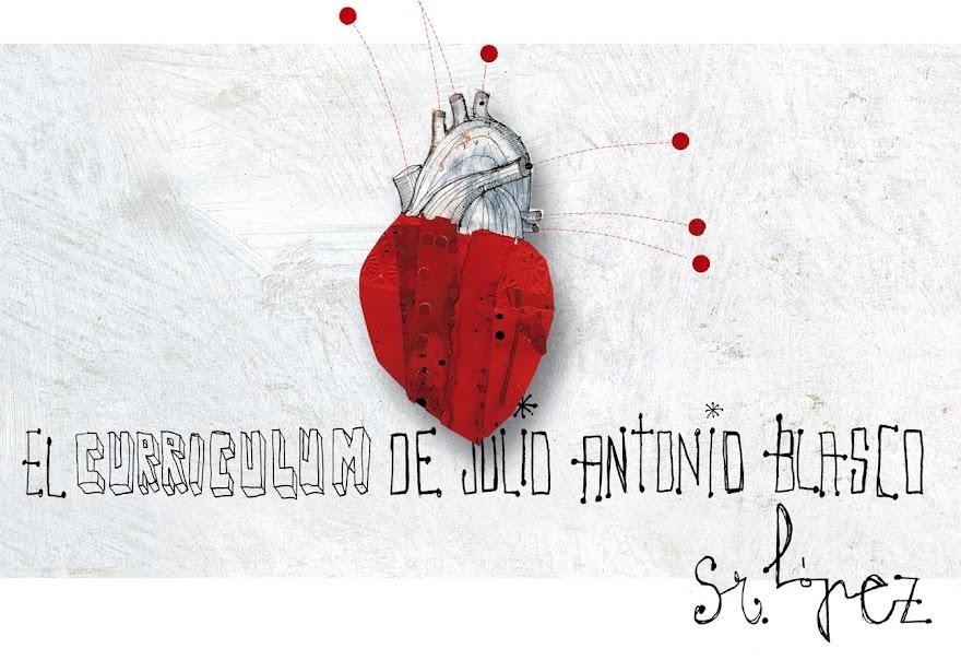 El curriculum de Julio Blasco López