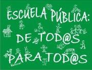 Escuela pública:de tod@s para tod@s