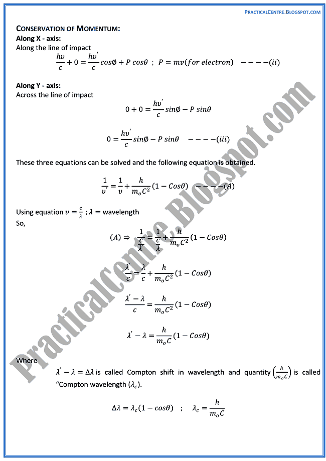 advent-of-modern-physics-Theory-Notes-Physics-12th