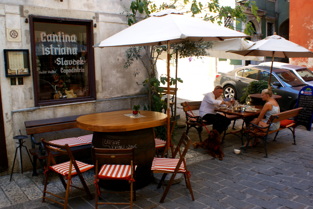 Kuchnia bez chemii Słoweńska Istria  Piran