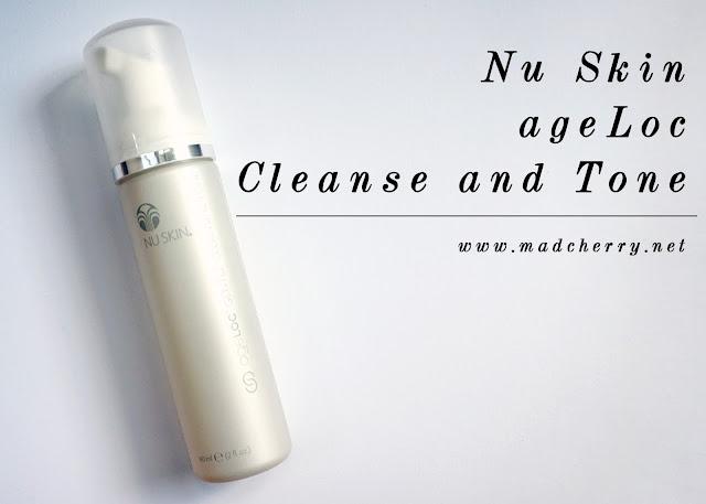 nu skin age loc cleanse and tone 1