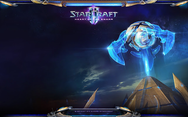 Mothership Core - StarCraft II : Heart of the Swarm