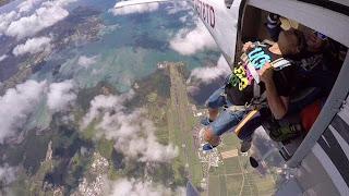 Colibri parachutisme - chute libre en Martinique