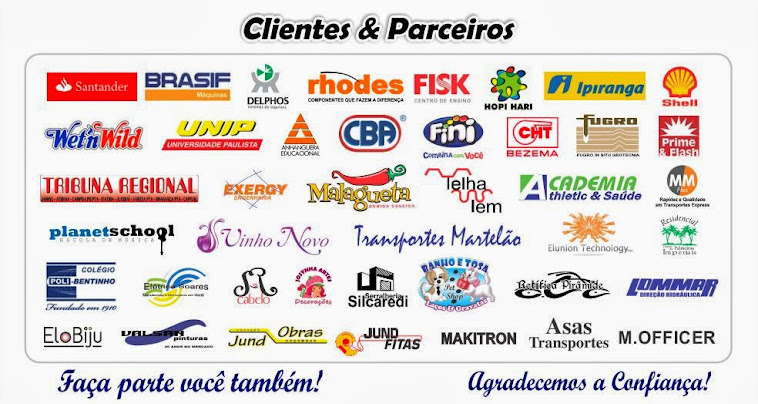 NOSSOS CLIENTES E PARCEIROS