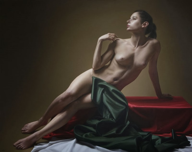 D.W.C. Woman Dreams - Painter Javier Arizabalo