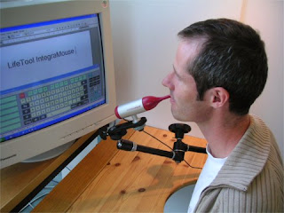 The Sip-and-Puff system is a great tool to help people with severe disabilities communicate.