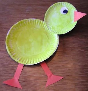 http://www.katiesnestingspot.com/2009/04/easter-art-paper-plate-chick.html