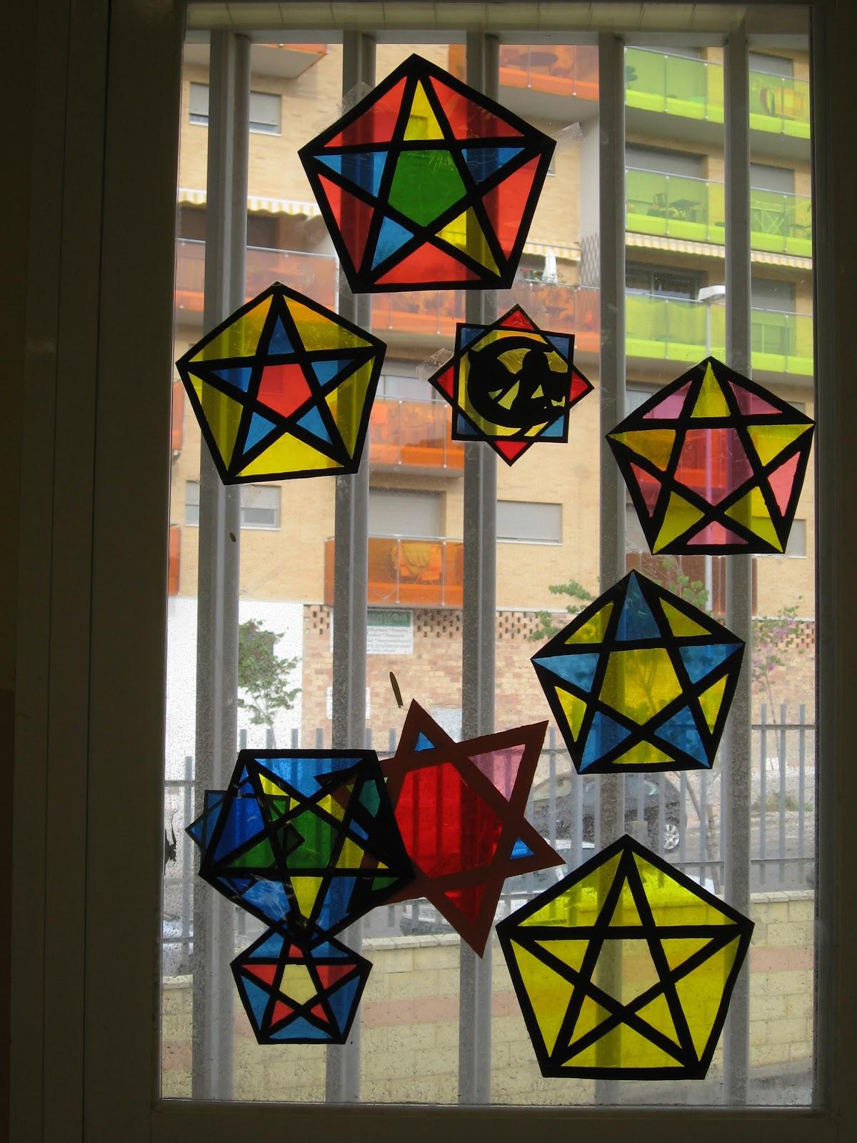 Epv 1 eso ies joaqu n lobato u d 7 figuras geom tricas - Como hacer una vidriera ...