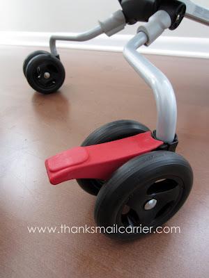 stroller brakes