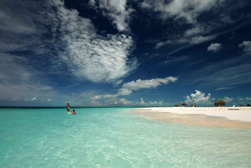 Beach at Cayo Largo (Cuba)