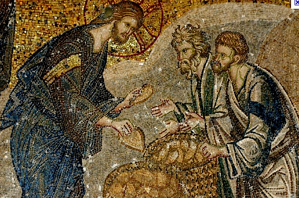 Todays Gospel Reading Mt 1413 21 Recounts The Miracle Of Loaves And Fishes Where Jesus Feeds Five Thousand Men An Undisclosed Number Women