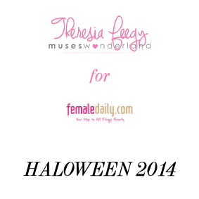HALOWEEN TUTORIAL FOR FEMALEDAILY