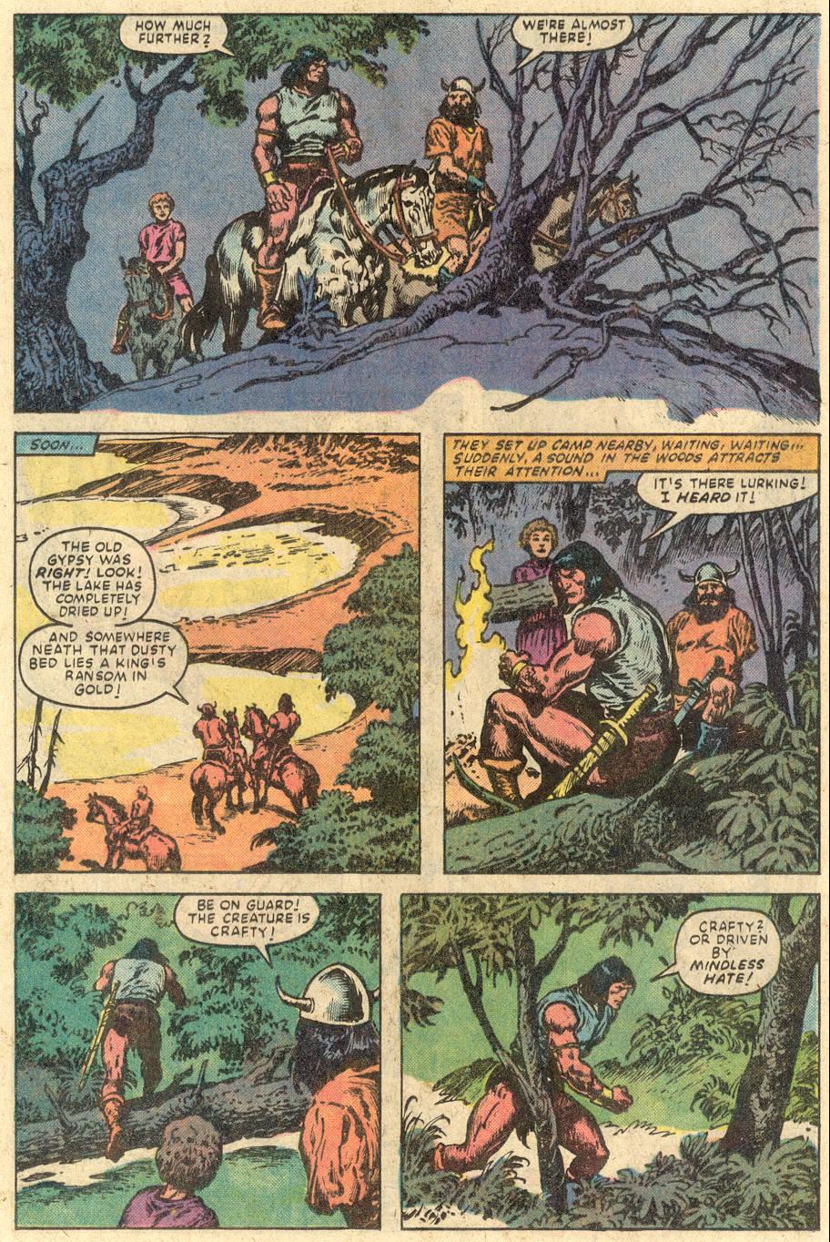 Conan the Barbarian (1970) Issue #149 #161 - English 18