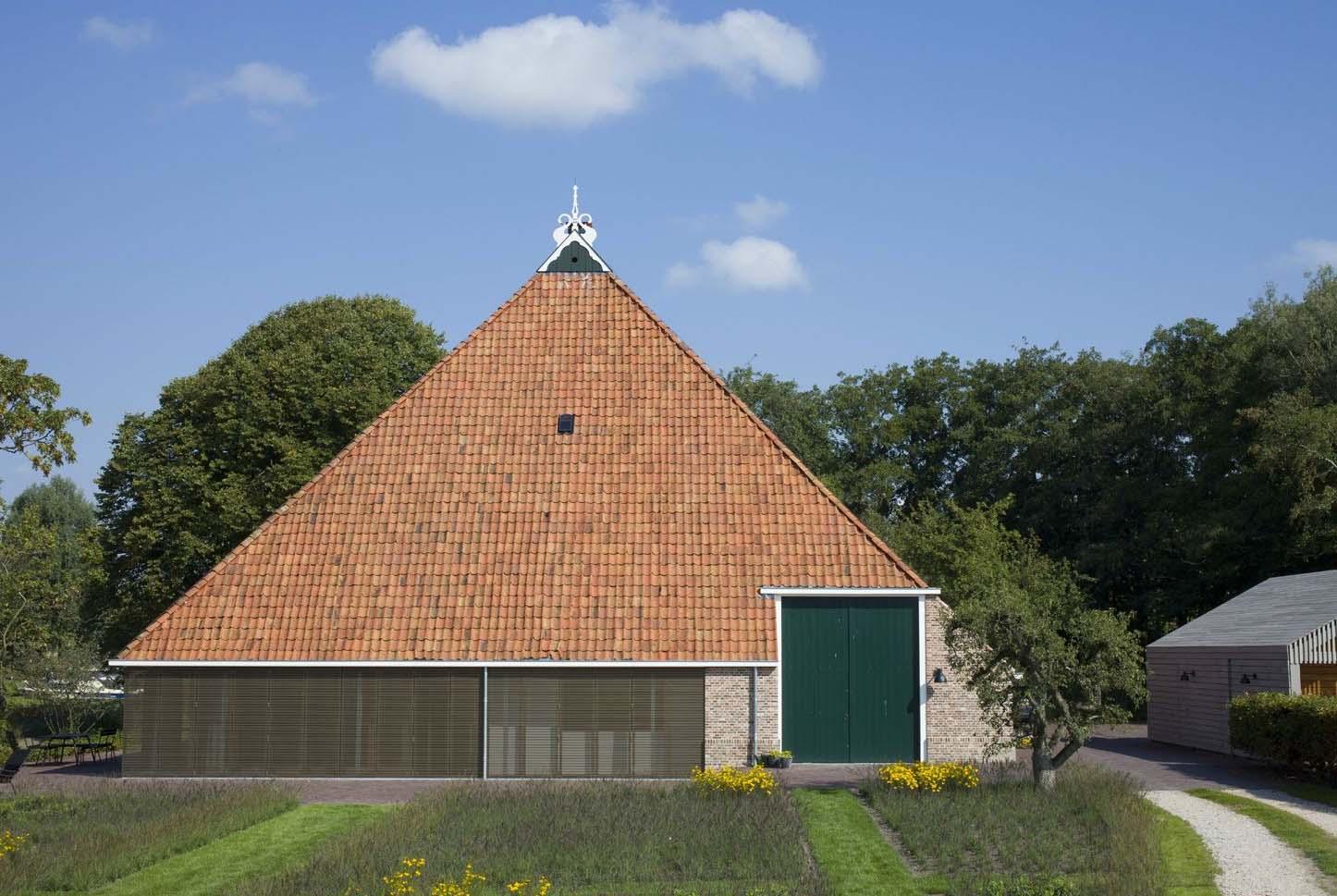 Casa fattoria in olanda by jelle de jong architekten arc for Fattoria moderna a 2 piani