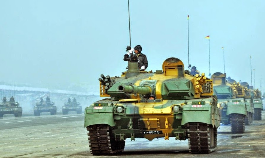 MBT 2000 Tank of Bangladesh Army