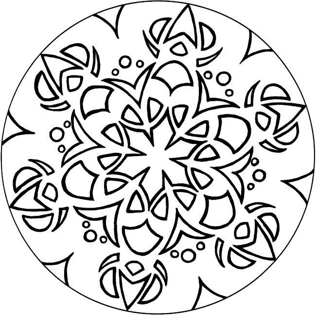 Arte cbm exemplos de mandalas e ou ros ceas - Coloriage lyon ...