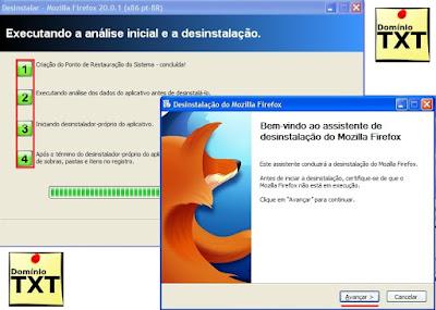 DominioTXT - RevoUninstaller remover MozillaFirefox