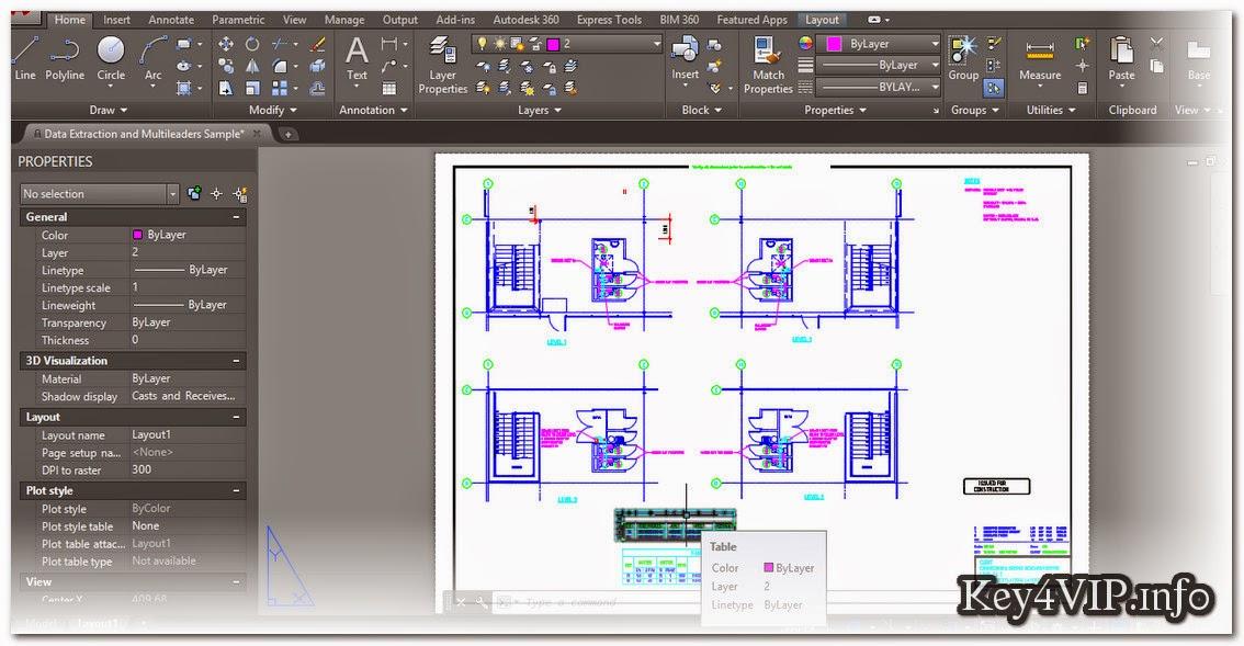 Autodesk AutoCAD 2016 Full 32 Bit + 64Bit,Phần mềm thiết kề đồ họa xây dựng số 1