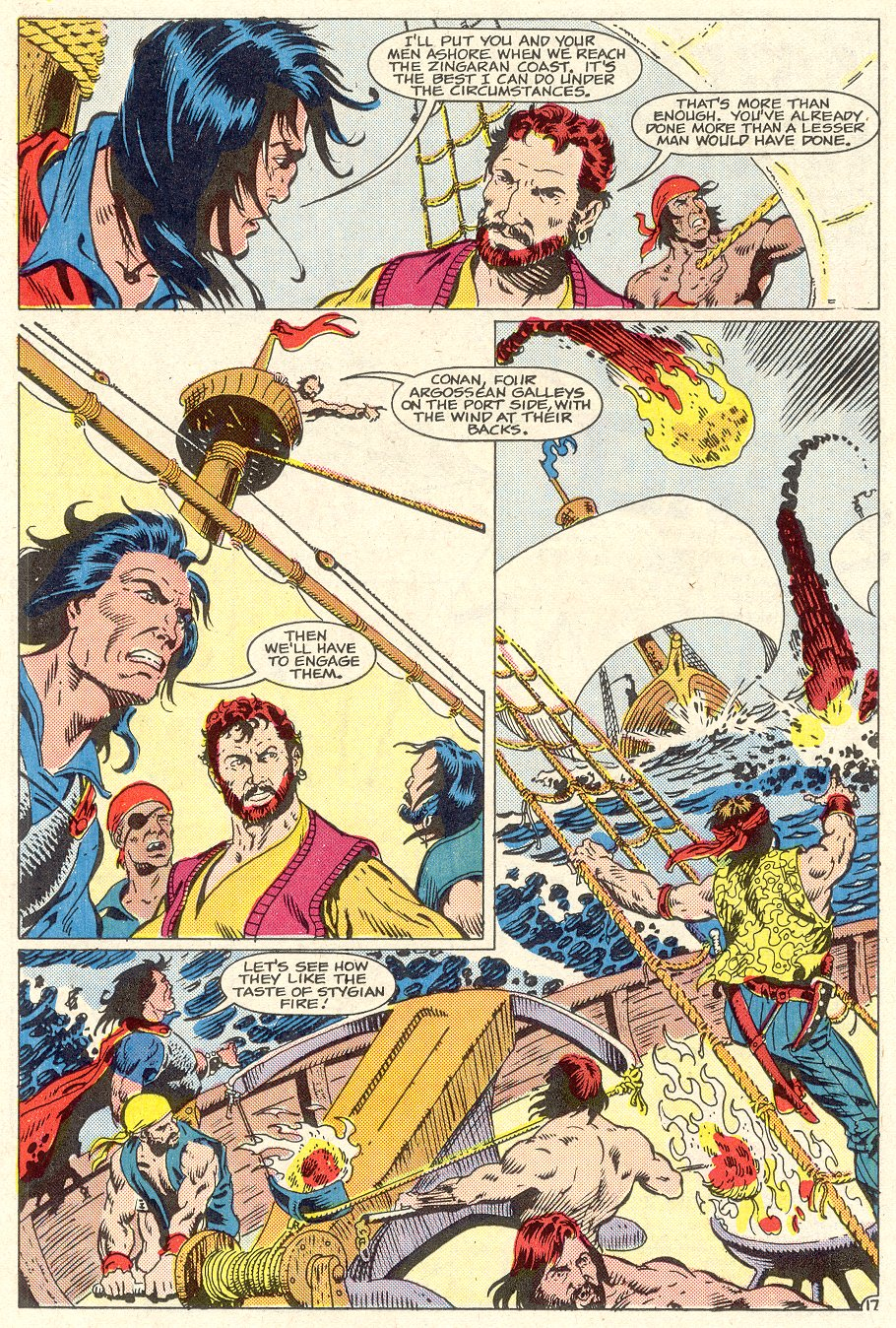 Conan the Barbarian (1970) Issue #186 #198 - English 18