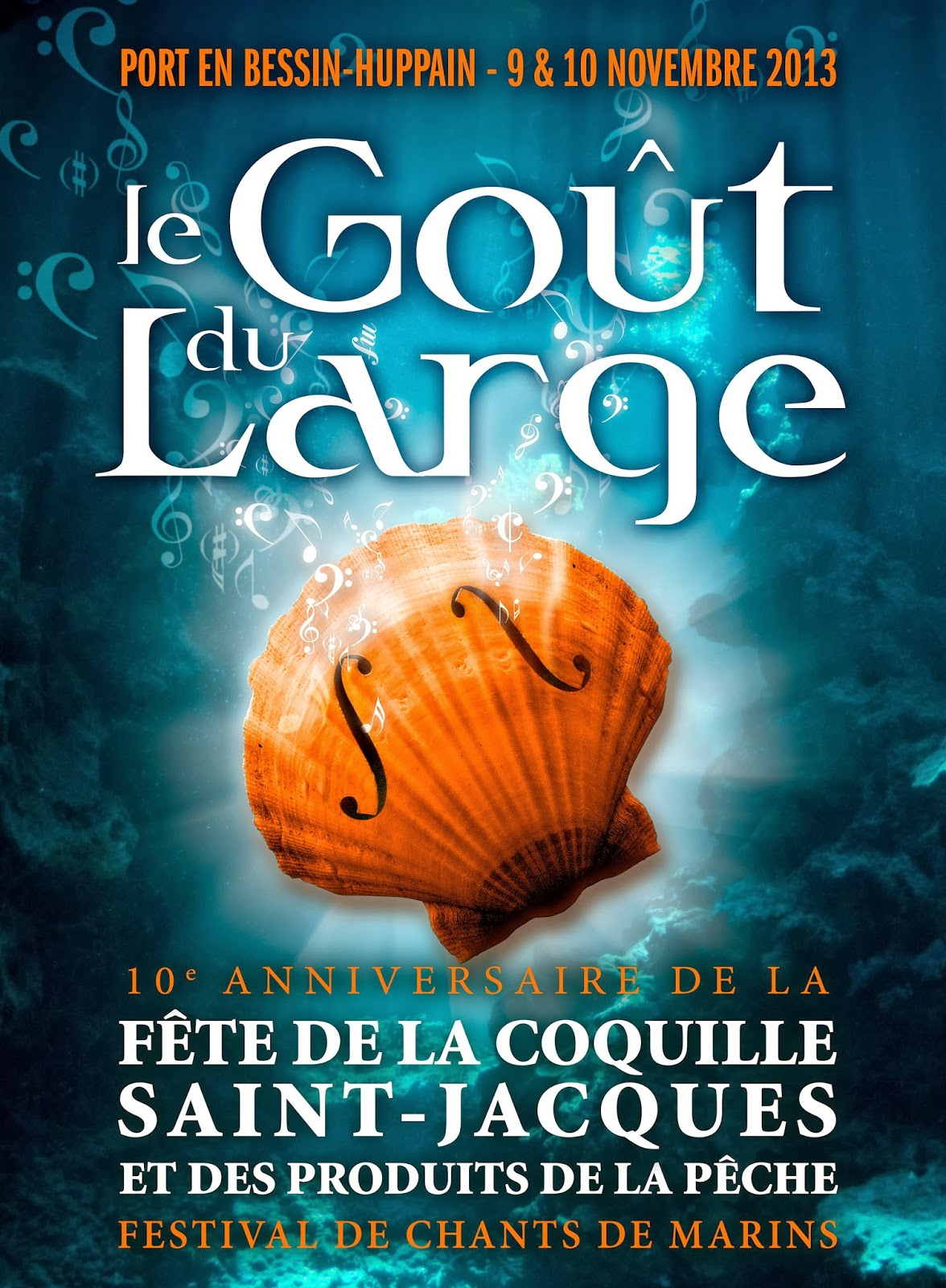 1 octobre 2013 top d part de la coquille saint jacques - Fete de la coquille st jacques port en bessin ...