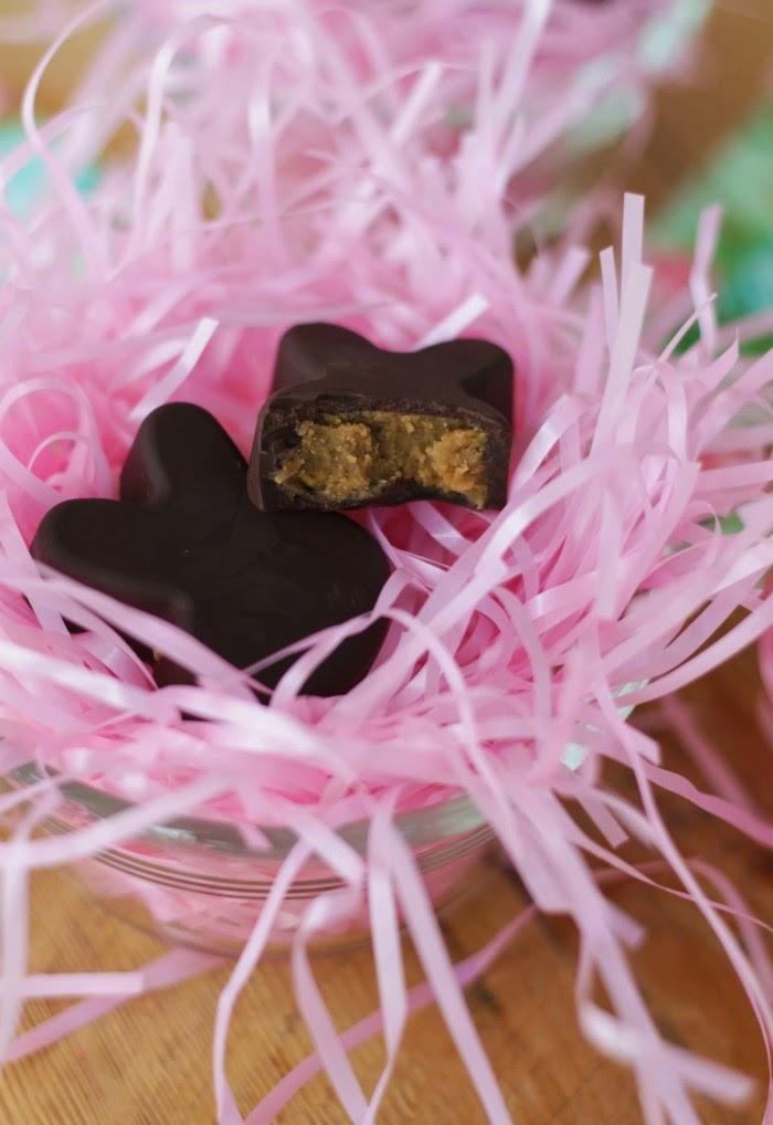 chocolate sunbutter bunnies - dairy free - gluten free - nut free
