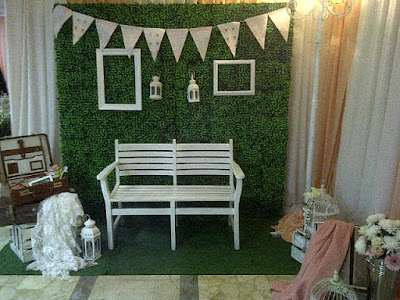 reception booth photo