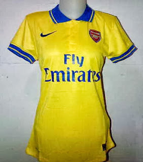 Arsenal Jersey Away Wanita