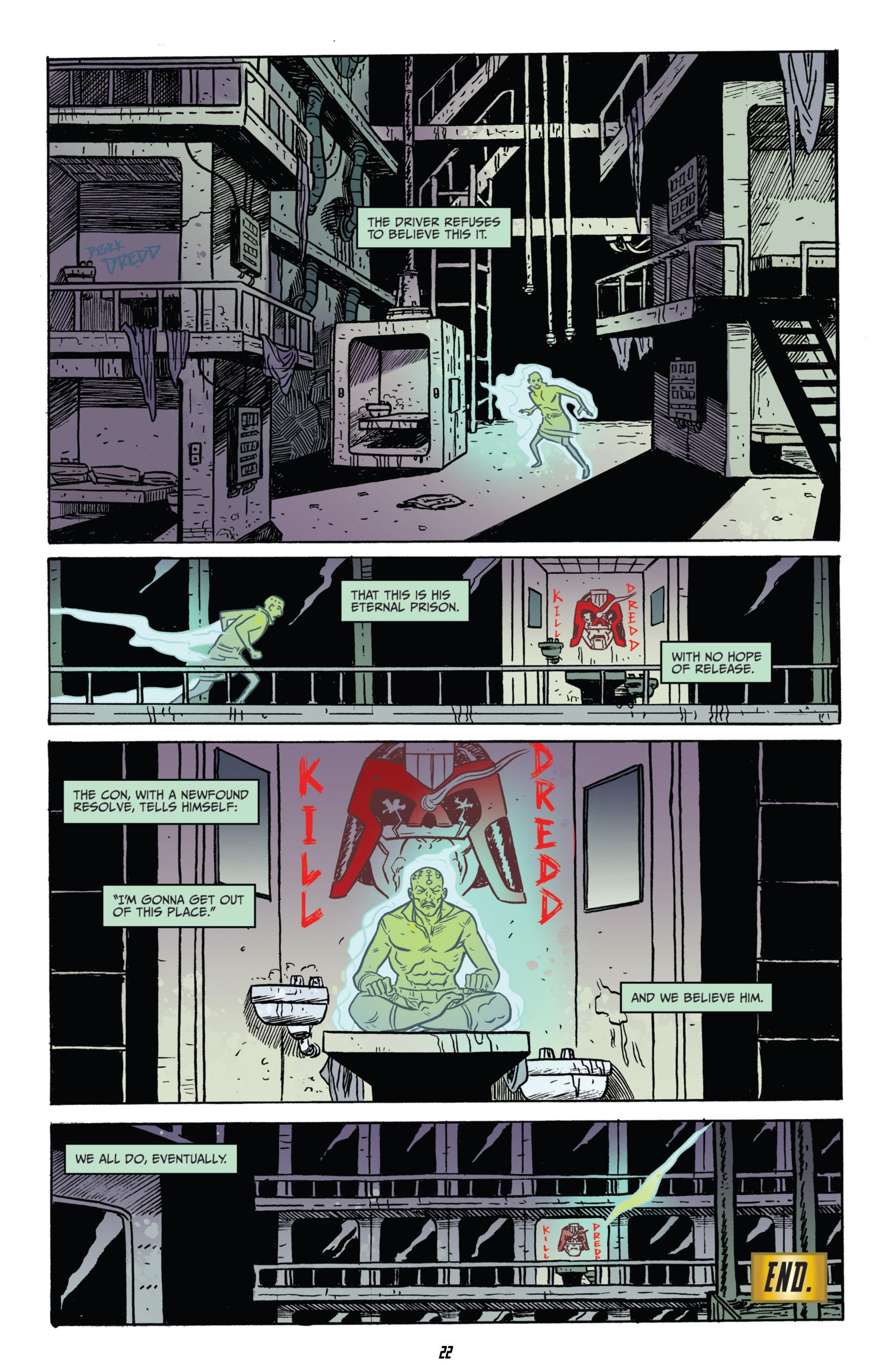 Read online Judge Dredd (2012) comic -  Issue #15 - 21