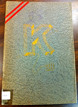 1928 KELVIN YEARBOOK