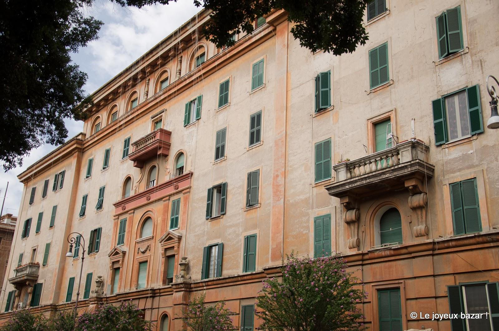 Rome - Testaccio - façades