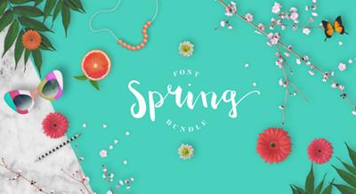 Spring Fonts.